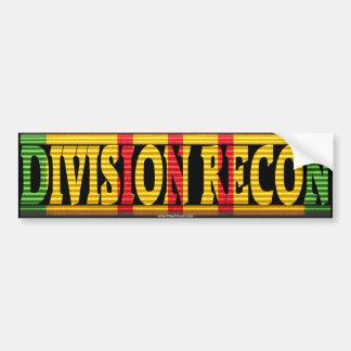 Division Recon Vietnam Service Medal Sticker