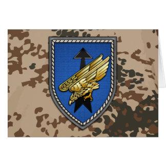 Division Spezielle Operationen Card