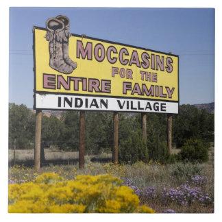 Divisoria continental, New México, ruta 66 Azulejo Cuadrado Grande