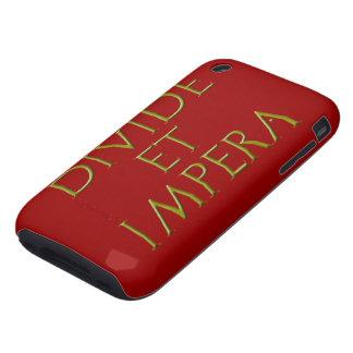 Divisoria y caja de la casamata de Impera Tough iPhone 3 Carcasa