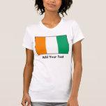d'Ivoire de Cote - bandera costamarfileño Camisetas