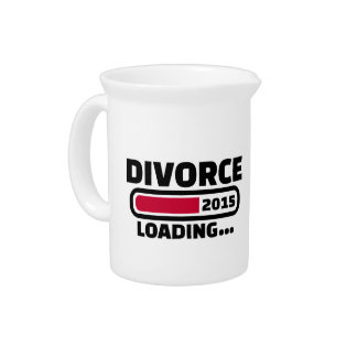 Divorce 2015 drink pitchers