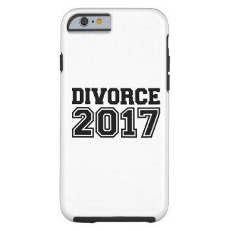 Divorce 2017 tough iPhone 6 case