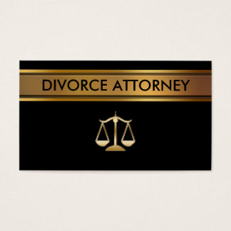 Divorce Attorney Business Cards