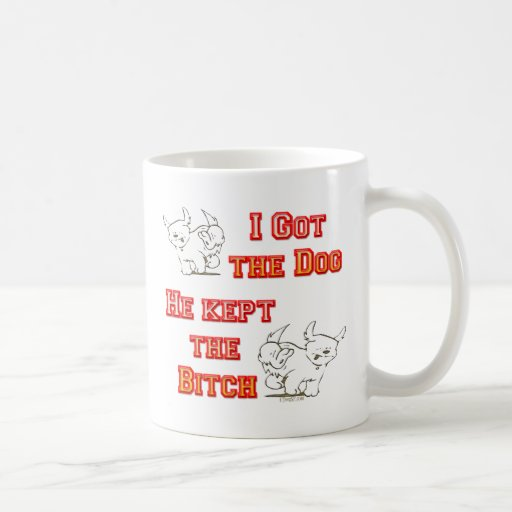 Divorce Bitch Classic White Coffee Mug