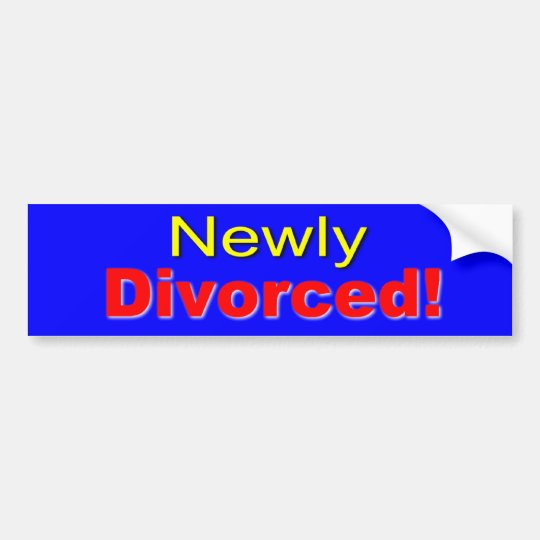 Divorce Bumper Sticker