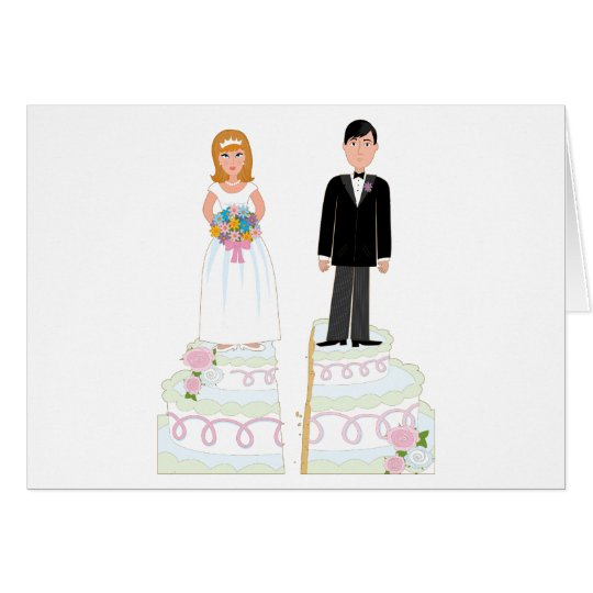 Divorce Cake Stock Card