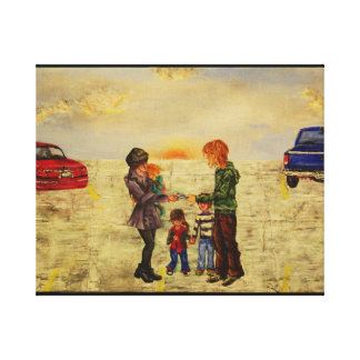 Divorce Canvas Print