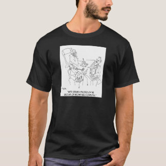 Divorce Cartoon 1309 T-Shirt
