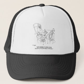 Divorce Cartoon 1309 Trucker Hat