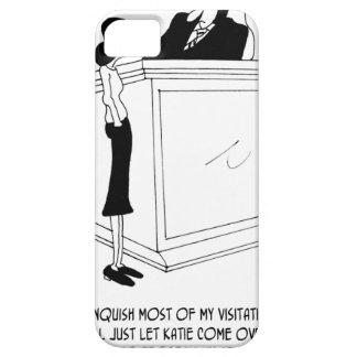 Divorce Cartoon 6485 iPhone SE/5/5s Case