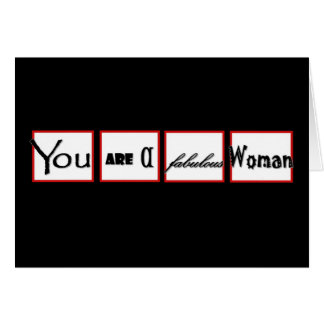 Divorce Encouragement You are a FABULOUS Woman Card