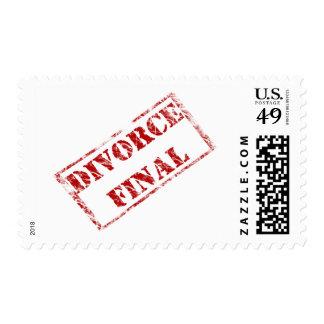 Divorce Final Stamp