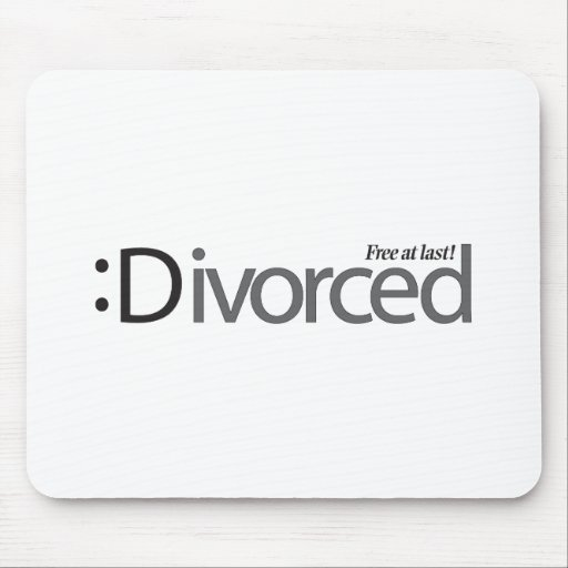 DIVORCE - free at last Mouse Pad