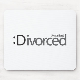 DIVORCE - free at last Mouse Pads