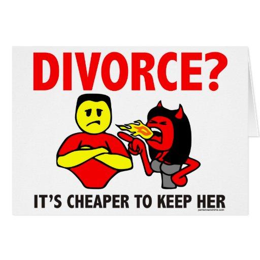 DIVORCE GREETING CARDS