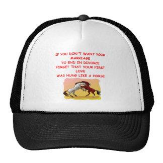 DIVORCE TRUCKER HAT