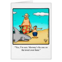 Divorce Humor Greeting Card For Him