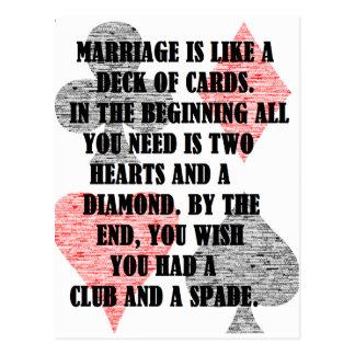 Divorce: Humor Postcard