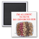 DIVORCE joke 2 Inch Square Magnet