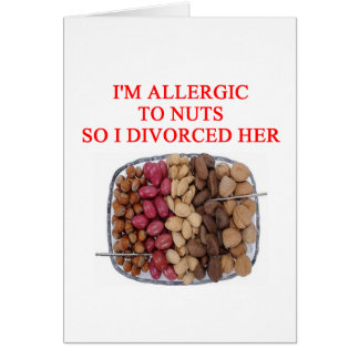 DIVORCE joke Card