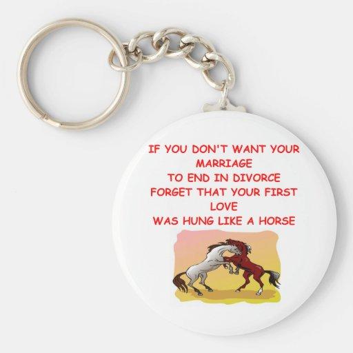DIVORCE KEY CHAIN