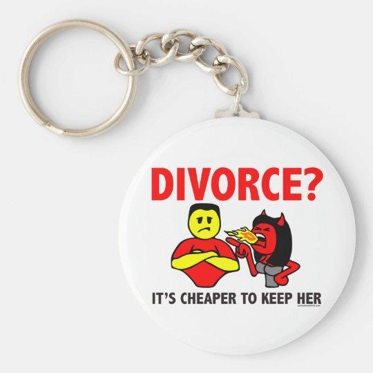 DIVORCE KEYCHAIN