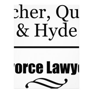 Divorce Lawyers Letterhead Template