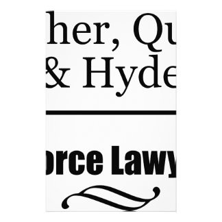 Divorce Lawyers Stationery