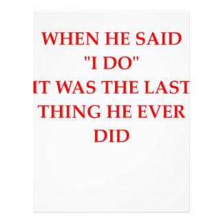 divorce letterhead