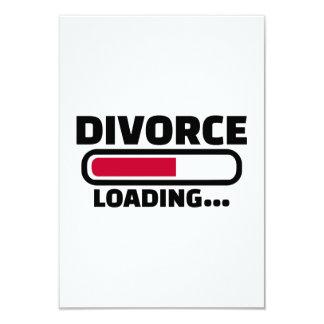 Divorce loading card