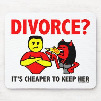 DIVORCE MOUSE PAD