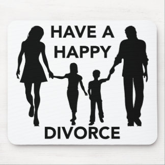 divorce mouse pad