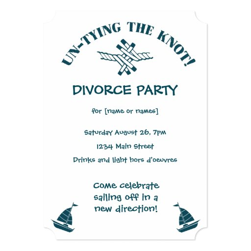 Divorce Party Invitations and get inspiration to create nice invitation ideas