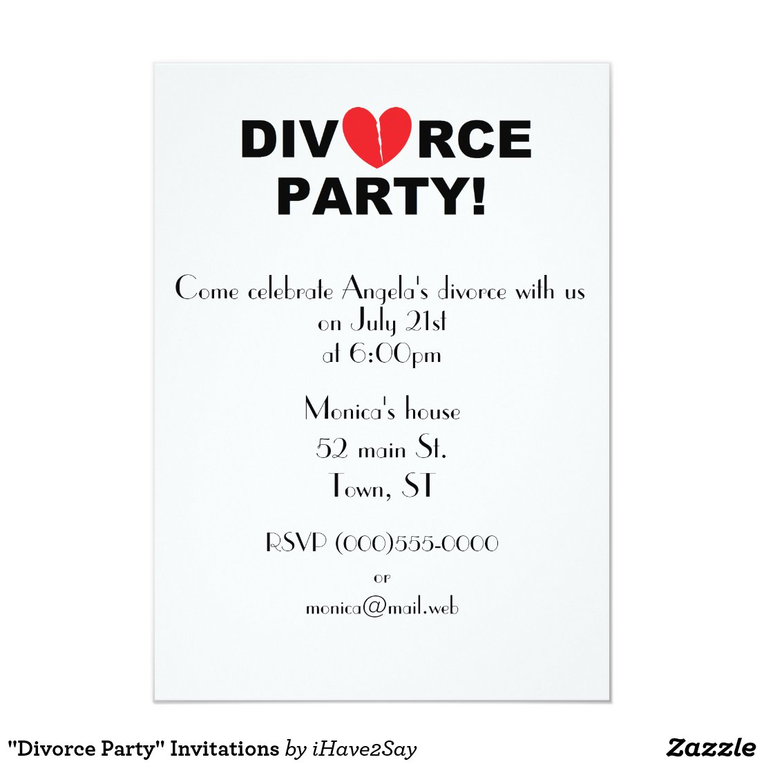 Divorce Party Invitations - 2018 images & pictures - Next Chapter ...