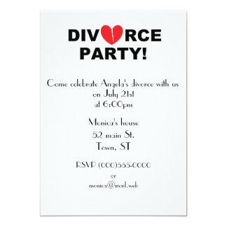 divorce party invitations & announcements | zazzle, Party invitations