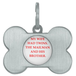 divorce pet tag