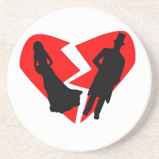Divorce Sandstone Coaster