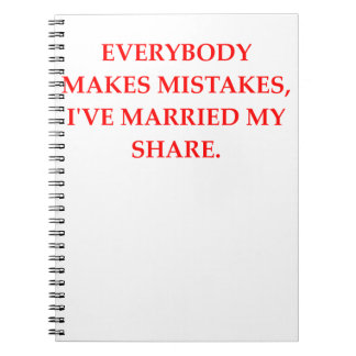 DIVORCE SPIRAL NOTEBOOK