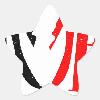 Divorce Star Sticker