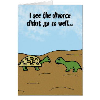 Divorce - Support Greeting Card
