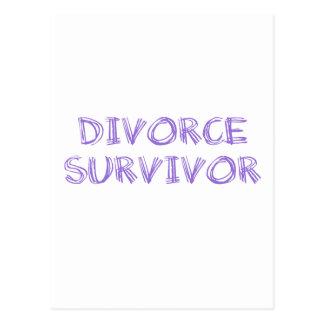 Divorce Survivor - 1 - Violet Postcard