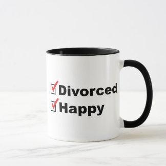 Divorced And Happy Mug