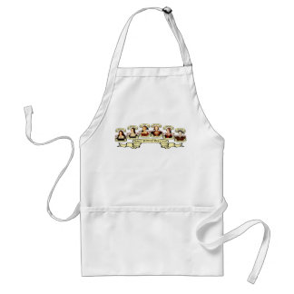 Divorced, Beheaded, DIed... Wives of Henry VIII Adult Apron