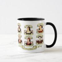 Divorced, Beheaded, DIed... Wives of Henry VIII Mug