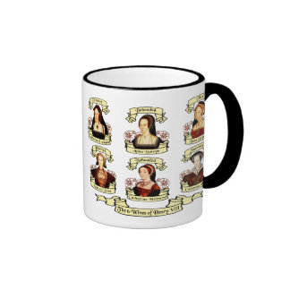 Divorced, Beheaded, DIed... Wives of Henry VIII Ringer Mug
