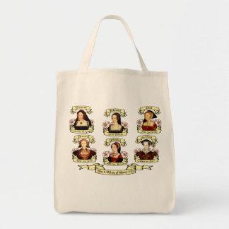 Divorced, Beheaded, DIed... Wives of Henry VIII Tote Bag