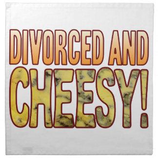 Divorced Blue Cheesy Cloth Napkin