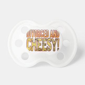 Divorced Blue Cheesy Pacifier