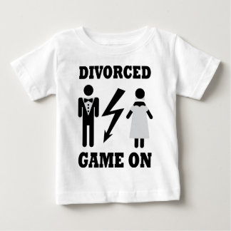 divorced game on icon baby T-Shirt